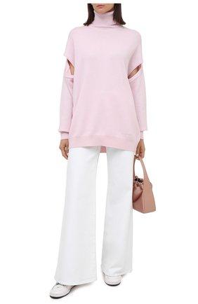 Женский кашемировый свитер GIVENCHY розового цвета, арт. BW90AG4Z7G   Фото 2