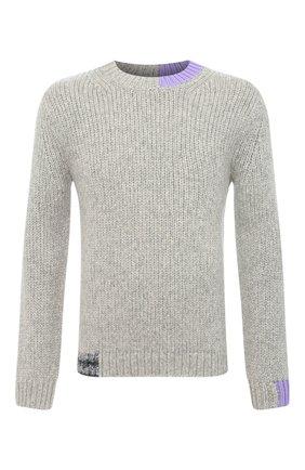 Женский шерстяной свитер HELMUT LANG серого цвета, арт. K06HM706   Фото 1