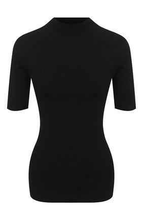 Женский топ из вискозы THEORY черного цвета, арт. K0716716 | Фото 1