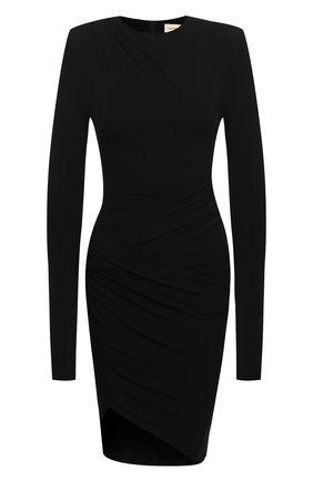 Женское платье из вискозы ALEXANDRE VAUTHIER черного цвета, арт. 203DR1322 1029-202 | Фото 1