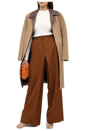 Женский шерстяной пуловер ALEXANDRE VAUTHIER белого цвета, арт. 203KT01303 1328-203 | Фото 2