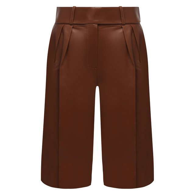 Кожаные шорты Alexandre Vauthier