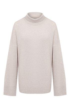 Женский кашемировый свитер LE KASHA светло-бежевого цвета, арт. SUEDE00 | Фото 1