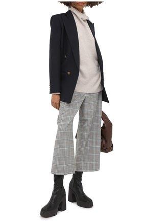 Женский кашемировый свитер LE KASHA светло-бежевого цвета, арт. SUEDE00 | Фото 2