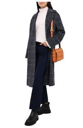 Женский кашемировый свитер LE KASHA белого цвета, арт. SUEDE00 | Фото 2