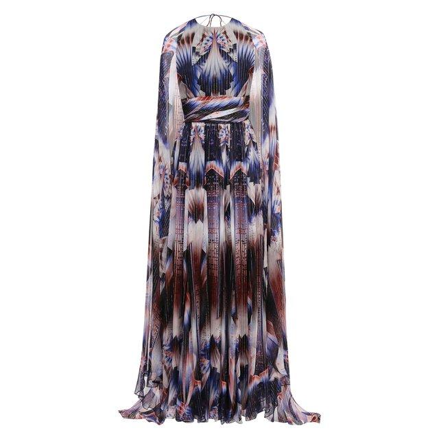Шелковое платье Zuhair Murad