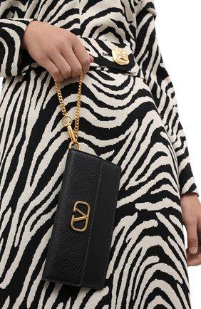 Женские кошелек valentino garavani на цепочке VALENTINO черного цвета, арт. UW2P0T33/SNP | Фото 2