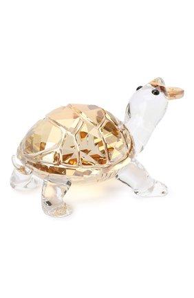 Мужского скульптура tortoise SWAROVSKI желтого цвета, арт. 5463874   Фото 2