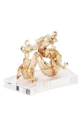 Скульптура dragon SWAROVSKI желтого цвета, арт. 5301557   Фото 2