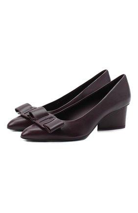 Женские туфли viva pump SALVATORE FERRAGAMO фиолетового цвета, арт. Z-07331941C | Фото 1