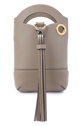 Женская сумка walden CHLOÉ серого цвета, арт. CHC20AP330C61   Фото 1