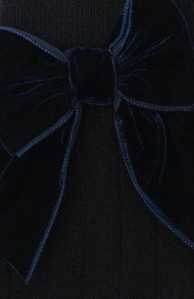 Детские хлопковые носки LA PERLA синего цвета, арт. 47872/9-12 | Фото 2