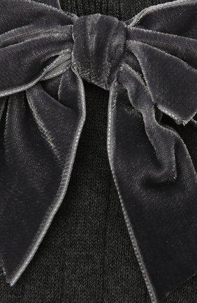 Детские хлопковые носки LA PERLA темно-серого цвета, арт. 47872/7-8 | Фото 2