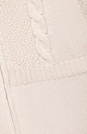 Детский шерстяной комбинезон BABY T бежевого цвета, арт. 20AI031TZ/1M-12M | Фото 3