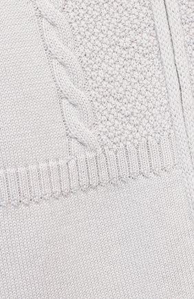 Детский шерстяной комбинезон BABY T серого цвета, арт. 20AI031TZ/1M-12M | Фото 3