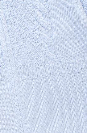 Детский шерстяной комбинезон BABY T голубого цвета, арт. 20AI031TZ/1M-12M | Фото 3