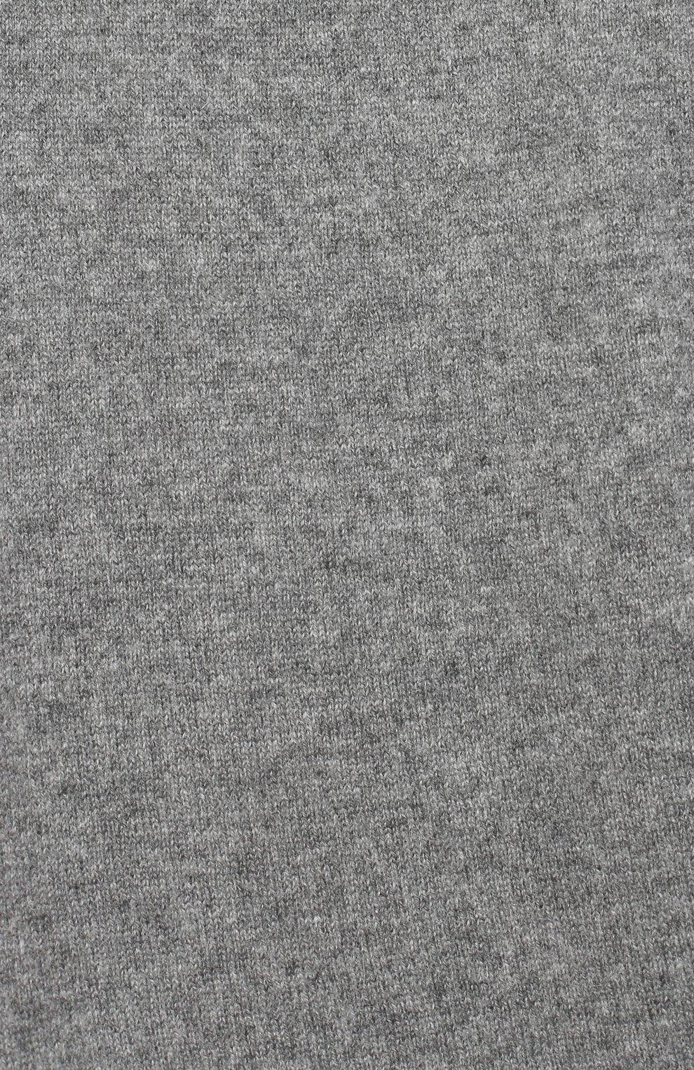 Детские кашемировые джоггеры GIORGETTI CASHMERE темно-серого цвета, арт. MB1683/8A-14A   Фото 3