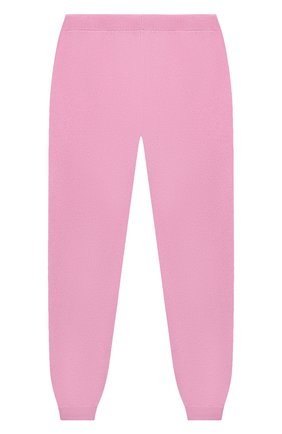 Детские кашемировые джоггеры GIORGETTI CASHMERE розового цвета, арт. MB1683/8A-14A | Фото 1