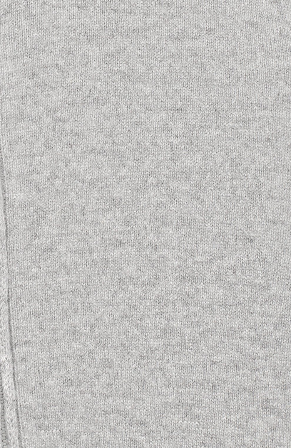 Детский кашемировый кардиган с капюшоном GIORGETTI CASHMERE светло-серого цвета, арт. MB1674/8A-14A   Фото 3