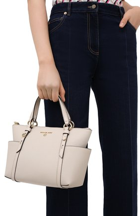 Женский сумка-шопер nomad MICHAEL MICHAEL KORS бежевого цвета, арт. 30T0GNXT1L | Фото 2