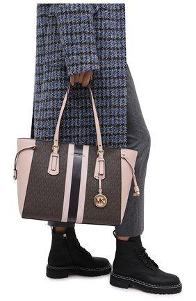 Женский сумка-шопер voyager MICHAEL MICHAEL KORS розового цвета, арт. 30T0GV6T2B | Фото 2