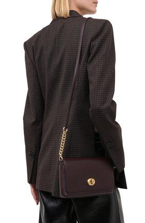 Женская сумка crosstown COACH бордового цвета, арт. 1494   Фото 2