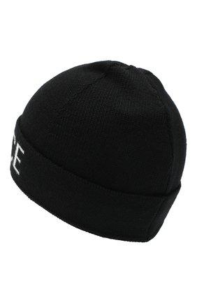Детского шерстяная шапка VERSACE черно-белого цвета, арт. YD000347/A236561 | Фото 2