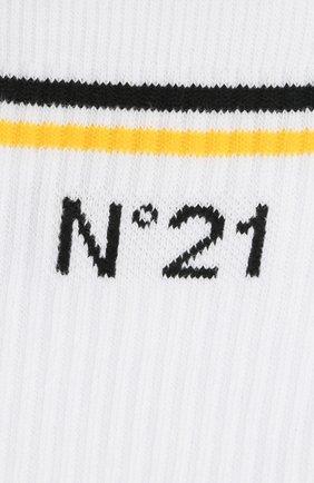 Детские хлопковые носки N21 белого цвета, арт. N214A4/N0027/N21Z4U | Фото 2