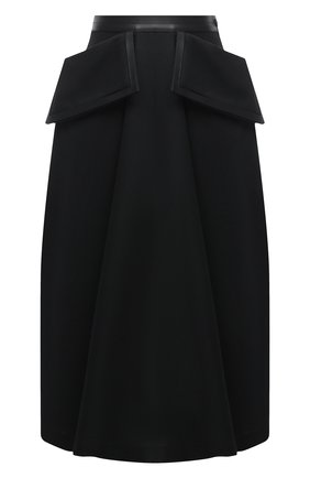 Женская юбка LOEWE черного цвета, арт. S359344XAN | Фото 1