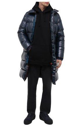 Мужские кожаные ботинки cublon BALLY темно-синего цвета, арт. CUBL0N/106   Фото 2