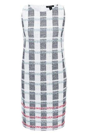 Женское платье из хлопка и шерсти ST. JOHN разноцветного цвета, арт. K1100H2 | Фото 1