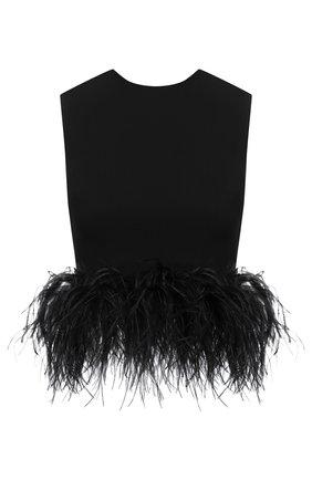 Женский топ 16 ARLINGTON черного цвета, арт. T-018-AW20-BLK CREPE | Фото 1