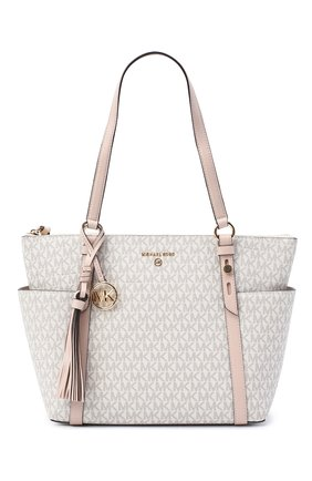 Женский сумка-шопер nomad MICHAEL MICHAEL KORS бежевого цвета, арт. 30T0GNXT2B | Фото 1