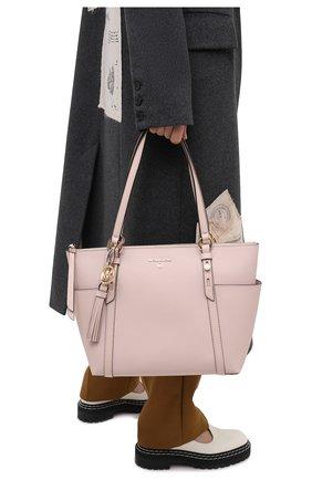 Женский сумка-тоут nomad MICHAEL MICHAEL KORS розового цвета, арт. 30T0GNXT2L | Фото 2