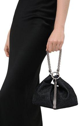 Женский сумка callie JIMMY CHOO черного цвета, арт. CALLIE/GVE | Фото 2