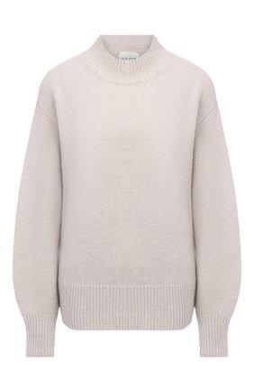 Женский кашемировый свитер LE KASHA светло-бежевого цвета, арт. 0SAKA00 | Фото 1
