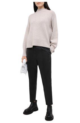 Женский кашемировый свитер LE KASHA светло-бежевого цвета, арт. 0SAKA00 | Фото 2
