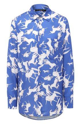 Женская рубашка PIETRO BRUNELLI разноцветного цвета, арт. CA0047/PL0065 | Фото 1
