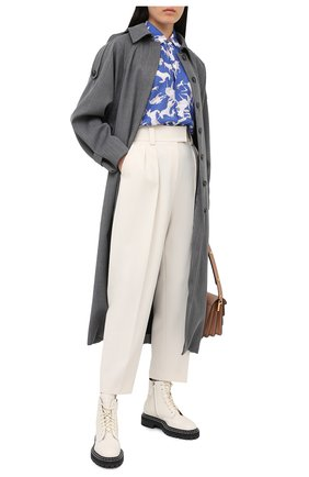 Женская рубашка PIETRO BRUNELLI разноцветного цвета, арт. CA0047/PL0065 | Фото 2