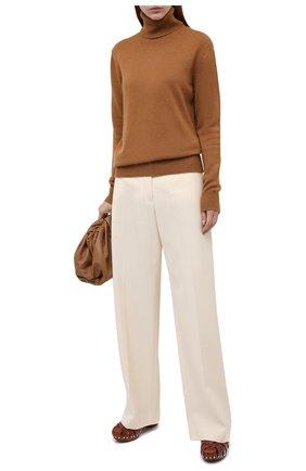 Женская кашемировый свитер DOLCE & GABBANA бежевого цвета, арт. FX832T/JAW5A | Фото 2