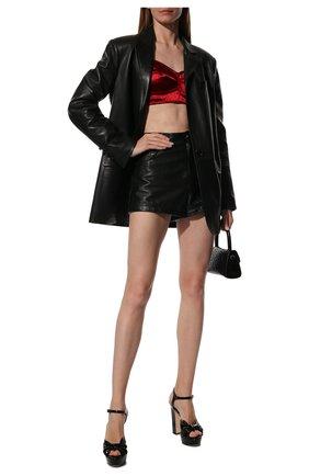 Женская топ-бюстье DOLCE & GABBANA красного цвета, арт. F7T18T/FURAD | Фото 2