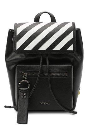 Женский рюкзак diag OFF-WHITE черно-белого цвета, арт. 0WNB007E20LEA0021001 | Фото 1