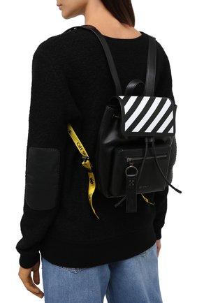 Женский рюкзак diag OFF-WHITE черно-белого цвета, арт. 0WNB007E20LEA0021001 | Фото 2