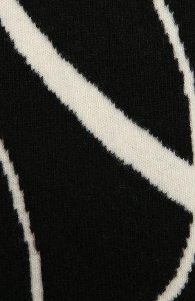 Женский шерстяной шарф OFF-WHITE черно-белого цвета, арт. 0WMA017F20KNI0031001 | Фото 2