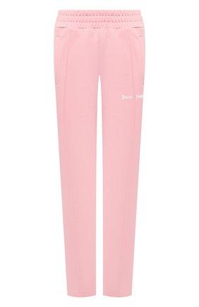 Женские брюки PALM ANGELS розового цвета, арт. PWCA035F20FAB0023001 | Фото 1