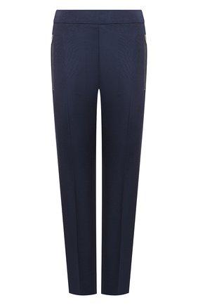 Женские шерстяные брюки STELLA MCCARTNEY темно-синего цвета, арт. 601806/SGB07 | Фото 1