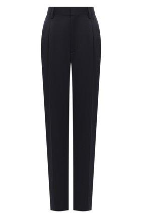 Женские шерстяные брюки STELLA MCCARTNEY темно-синего цвета, арт. 583642/SPA03 | Фото 1