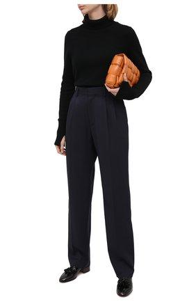 Женские шерстяные брюки STELLA MCCARTNEY темно-синего цвета, арт. 583642/SPA03 | Фото 2