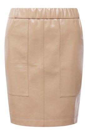 Женская юбка JM STUDIO бежевого цвета, арт. FW202104 | Фото 1