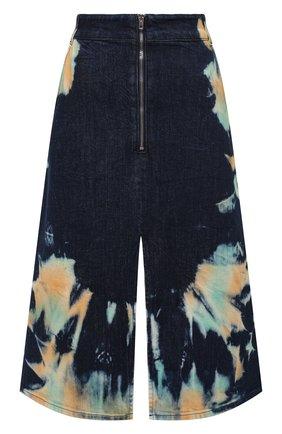 Женская джинсовая юбка STELLA MCCARTNEY темно-синего цвета, арт. 601787/S0H03 | Фото 1